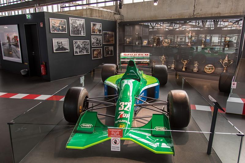 MotorWorld Köln-Rheinland, Michael Schumacher Private Collection: Jordan 191 - Chassis 04.