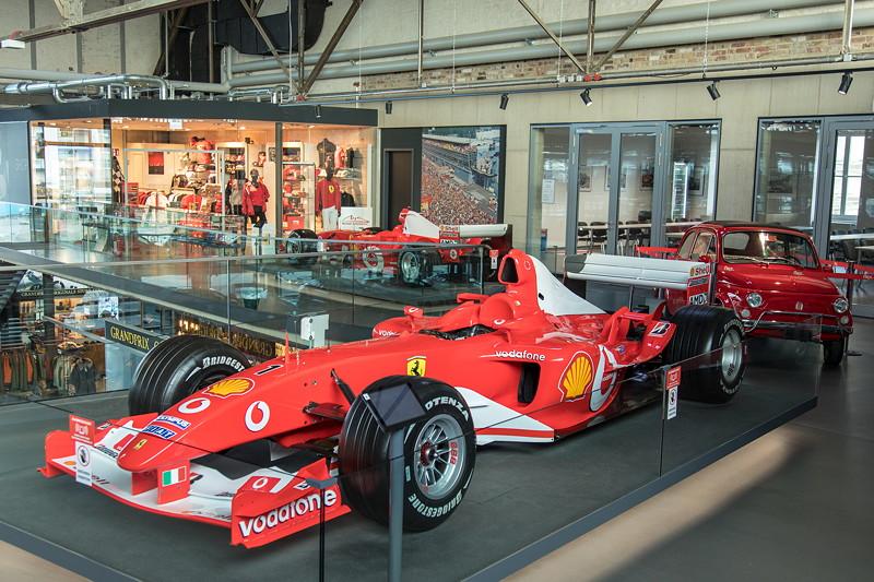 MotorWorld Köln-Rheinland, Michael Schumacher Private Collection: Ferrari F2002 - N223.