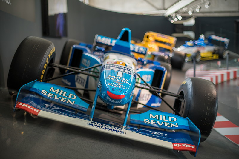 MotorWorld Köln-Rheinland, Michael Schumacher Private Collection: Benetton B195-04.