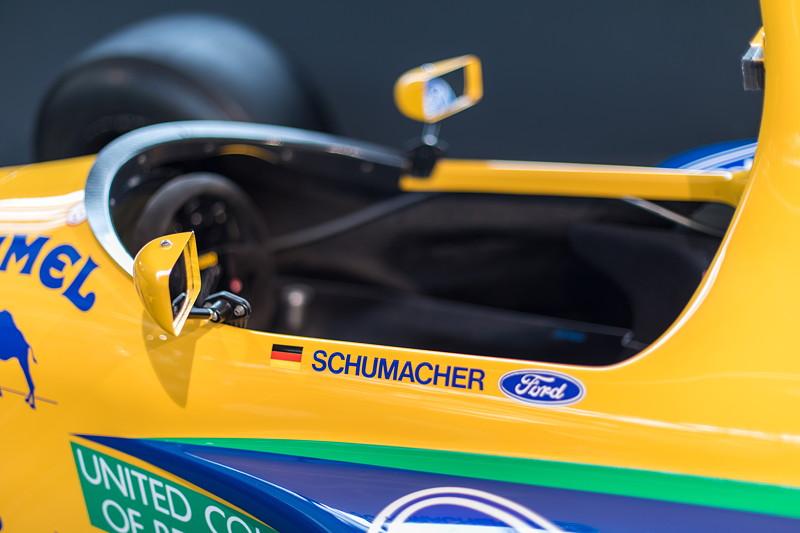 MotorWorld Köln-Rheinland, Michael Schumacher Private Collection: Benetton Ford Chassis B191B-06. Cockpit.