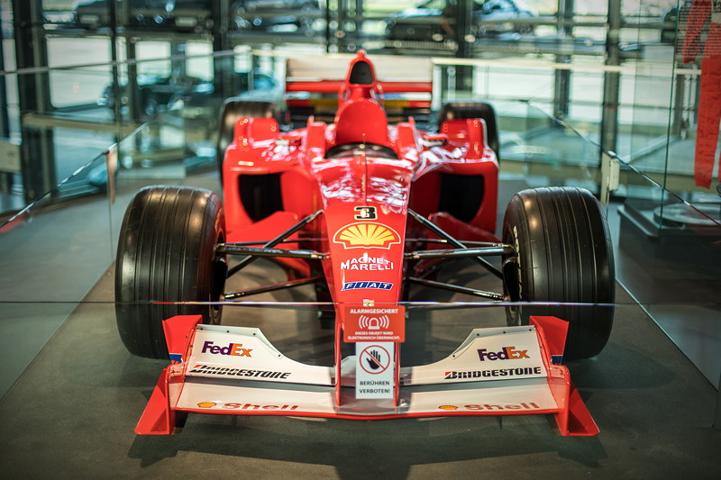 MotorWorld Köln-Rheinland, Michael Schumacher Private Collection: Ferrari F2000-N201.