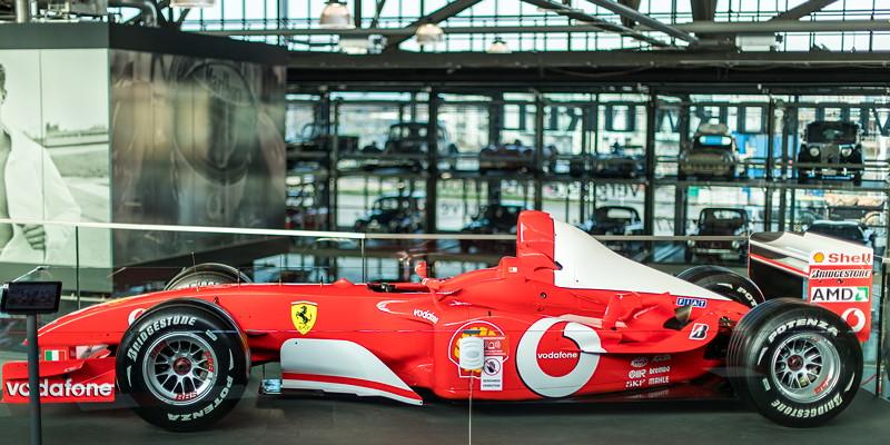 Mit Ferrari feierte Michael Schumacher seine größten Erfolge.