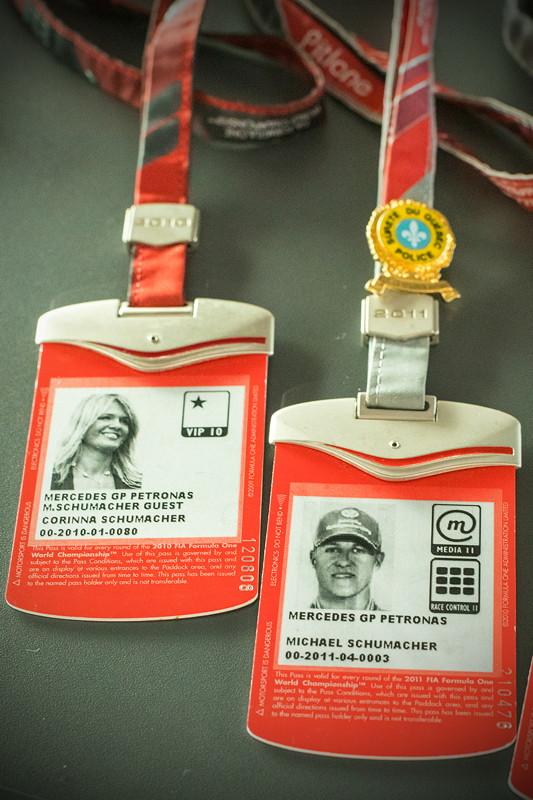 MotorWorld Köln-Rheinland: Zutrittskarten von Michael Schumacher und Frau Corinna