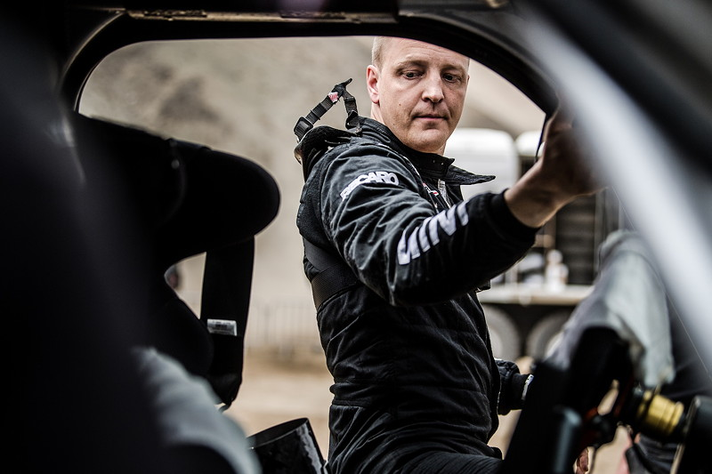 2018 Dakar, Shakedown, Mikko Hirvonen (FIN) - MINI John Cooper Works Buggy - X-raid Team 305 - 04.01.2018
