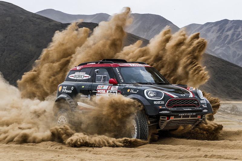 2018 Dakar, Shakedown, Orlando Terranova (ARG), Bernardo Graue (Arg) - MINI John Cooper Works Rally - X-raid Team 307 - 04.01.2018