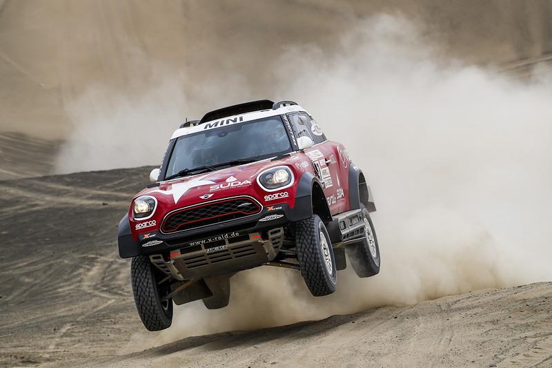 2018 Dakar, Shakedown, Boris Garafulic (CHI), Filipe Palmeiro (PRT) - MINI John Cooper Works Rally - X-raid Team 317 - 04.01.2018