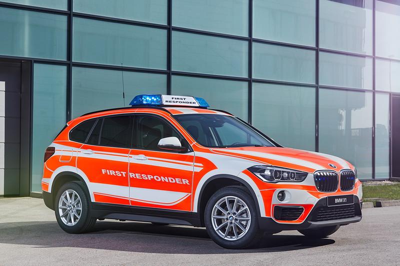 BMW X1 xDrive20d Einsatzleitung