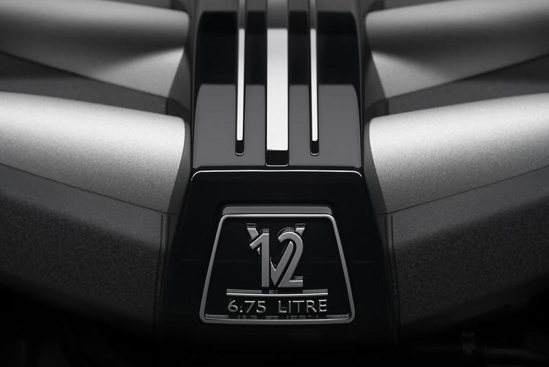 Rolls-Royce Cullinan, V12 Motor