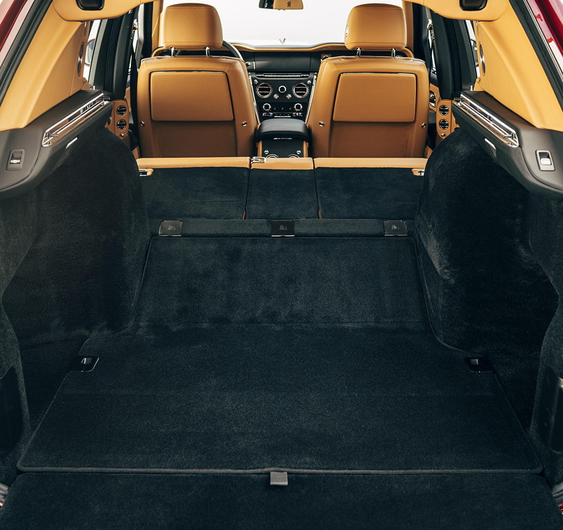 Rolls-Royce Cullinan, Kofferraum