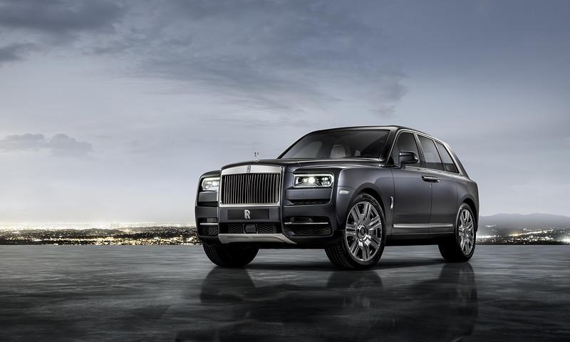 Rolls-Royce Cullinan in Tungsten grau