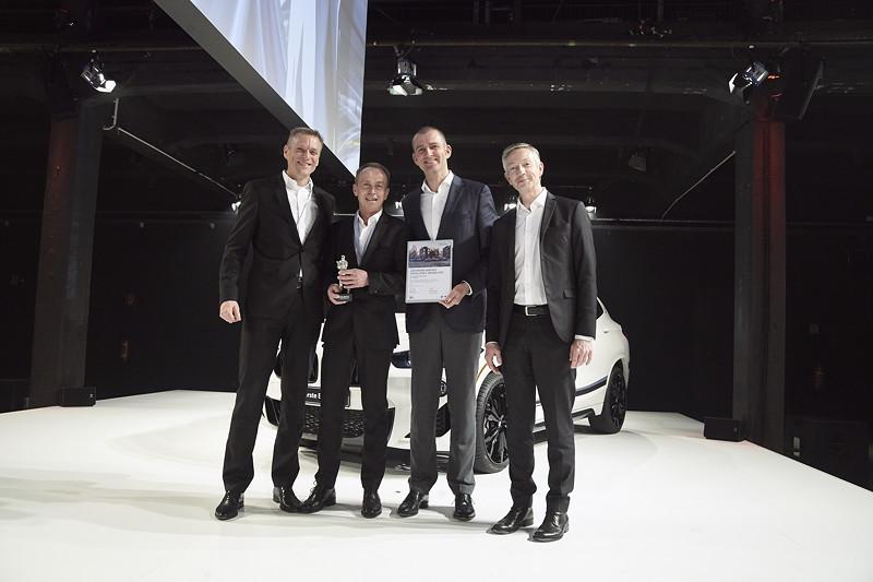 MINI: Müller-Dynamic GmbH, St. Wendel, gemeinsam mit Peter van Binsbergen, Christian Ach und Christian Scheppach.