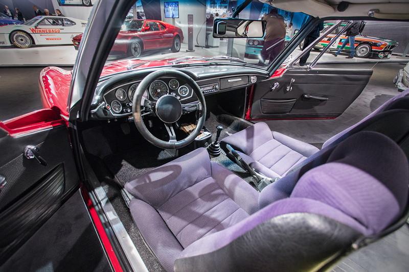 BMW 1600 GT, Innenraum