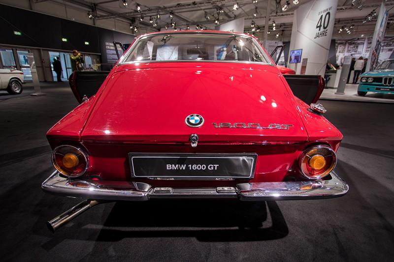 BMW 1600 GT, Heckansicht, zuvor wurde das Auto von der Firma 'Glas' gebaut.