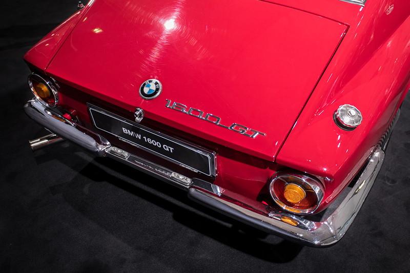 BMW 1600 GT, Typ-Bezeichnung auf der Heckklappe