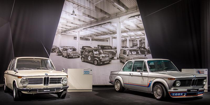 BMW 2002 und BMW 2002 turbo auf der Techno Classica 2018