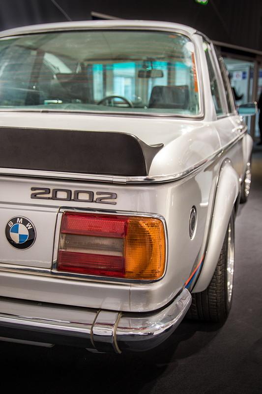 BMW 2002 turbo auf der Techno Classica 2018