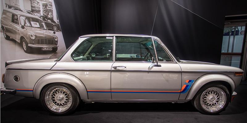 BMW 2002 turbo, erstmals vorgestellt auf der IAA 1973