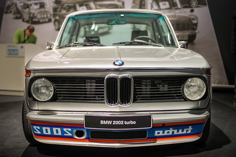 BMW 2002 turbo in Polaris silber