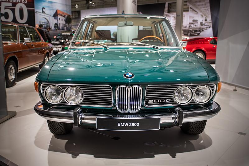 BMW 2800 (E3), Baujahr: 1970, Lackierung: BMW agave