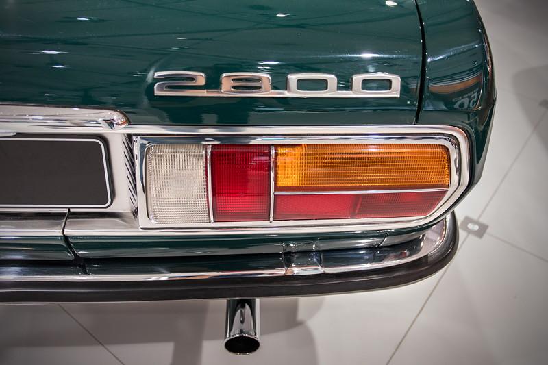 BMW 2800 (E3), Typbezeichnung auf dr Heckklappe