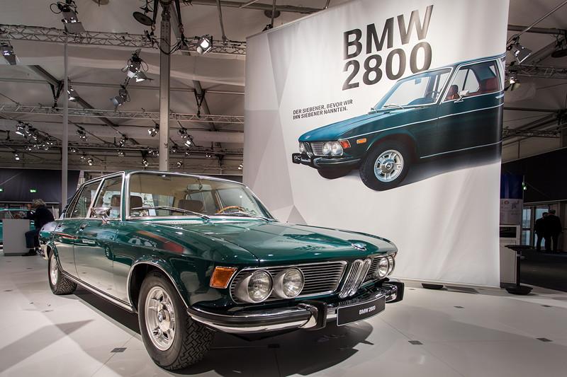 BMW 2800 (E3), der Siebener, bevor BMW in so nannte