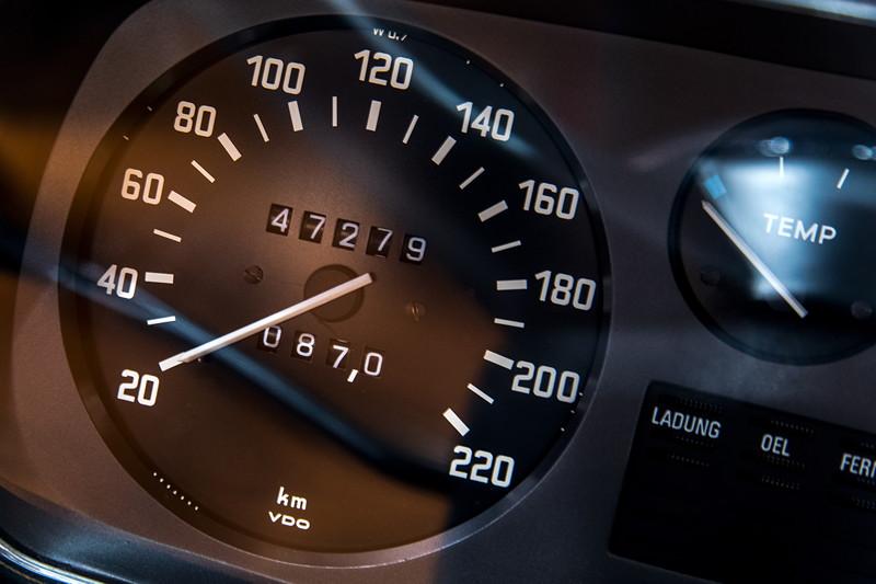 BMW 2800 (E3), Tachometer