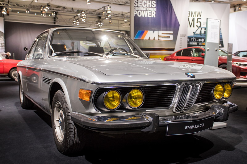 BMW 3.0 CSi (E9), Ursprungsland: Frankreich, daher gelbe Scheinwerfer
