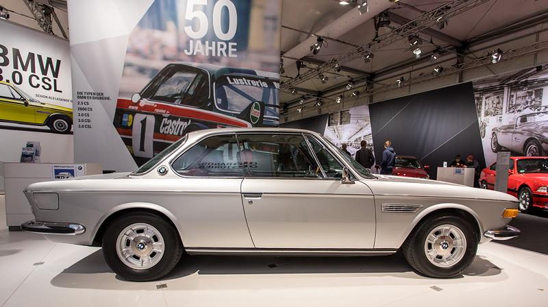 BMW 3,0 CSi (E9) von Thomas Klemstein auf der Techno Classica 2018.