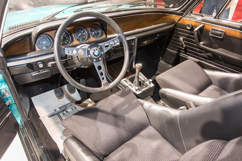 BMW 3.0 CSL (E9), Innenraum