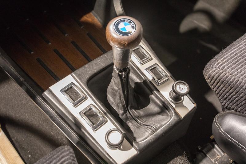 BMW 3.0 CSL (E9), Schaltkulisse