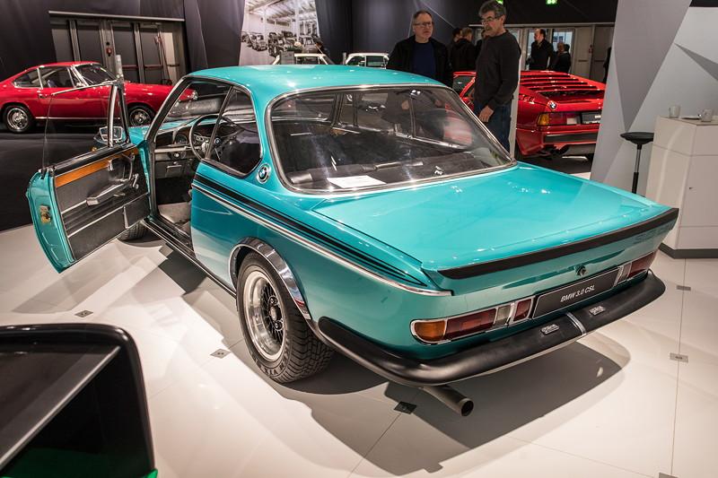 BMW 3.0 CSL (E9), nur 929 Einheiten wurden produziert