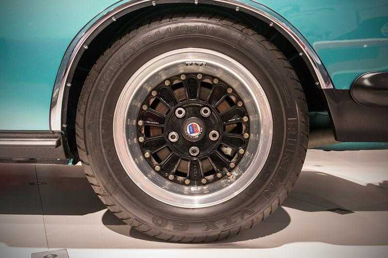 BMW 3.0 CSL (E9) auf Alpinafelgen