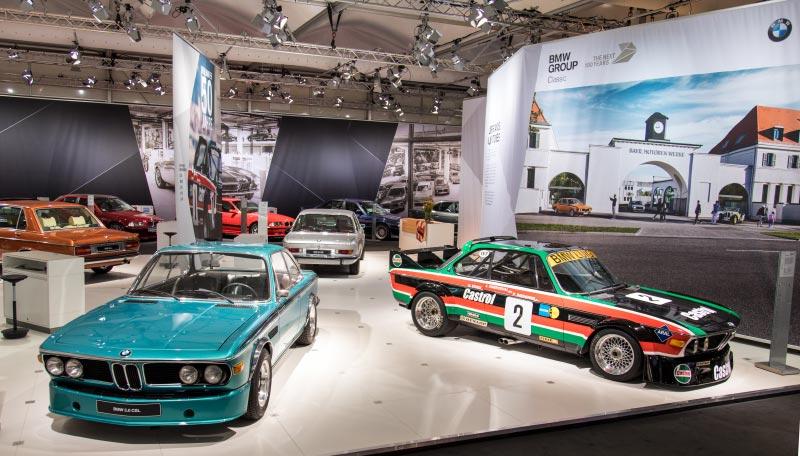 BMW 3.0 CSL (E9) von Dieter Tögel in Straßenversion (links) und als Rennsportcoupé (rechts).