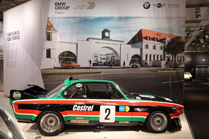 BMW 3.0 CSL Rennsportcoupé, eingesetzt von Team 'Luigi'