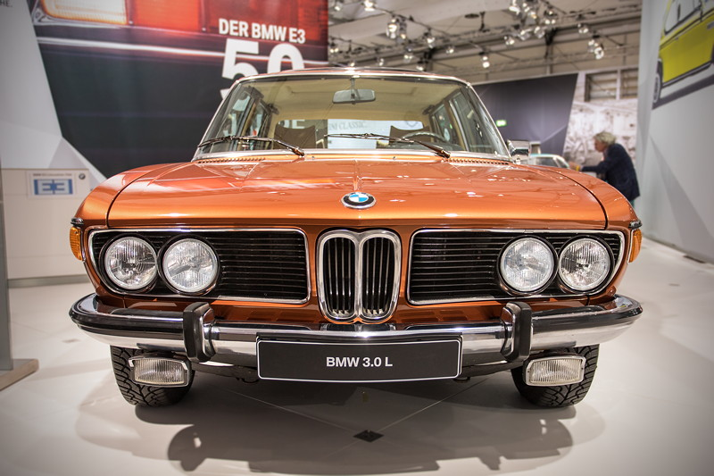 BMW 3.0 L (E3), der Siebener, bevor BMW ihn so nannte.