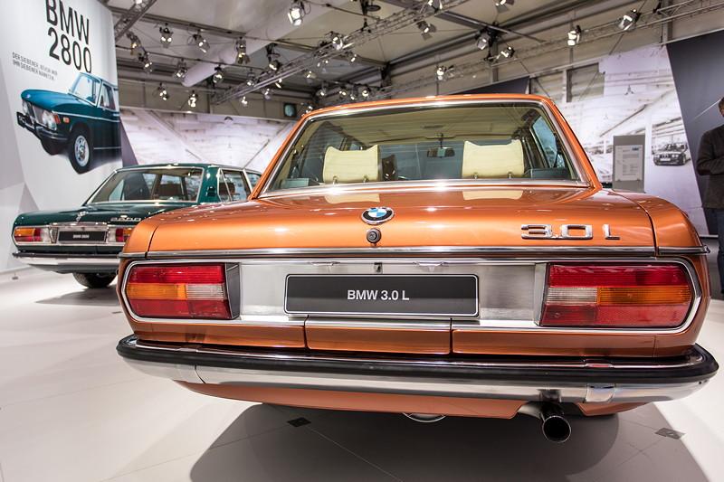 BMW 3.0 L (E3), Baujahr: 1976, 6.565 Einheiten wurden produziert.