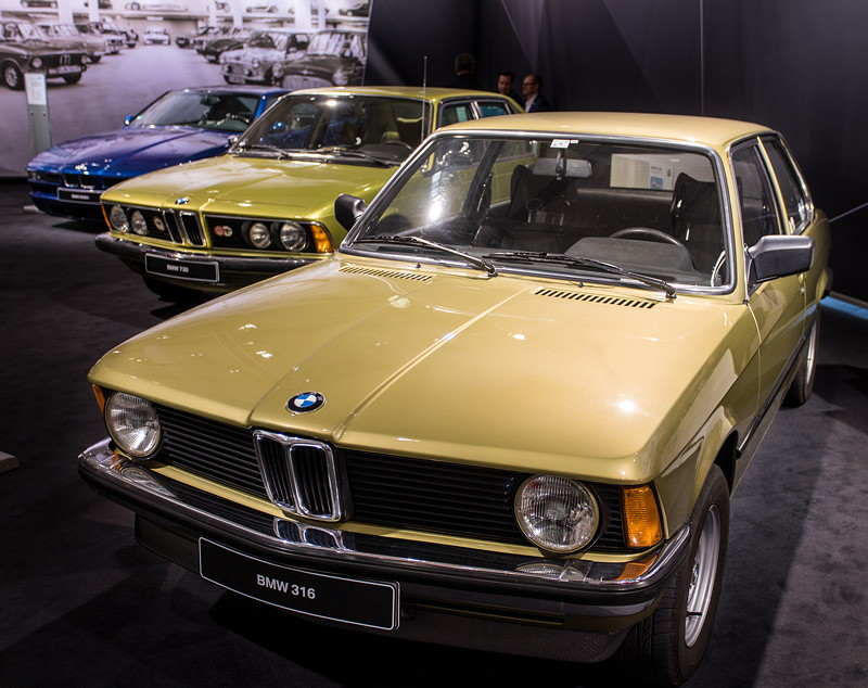 BMW 316 - ausgestellt auf der Techno Classica 2018