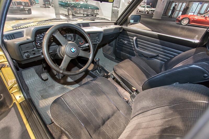 BMW 316, Innenraum