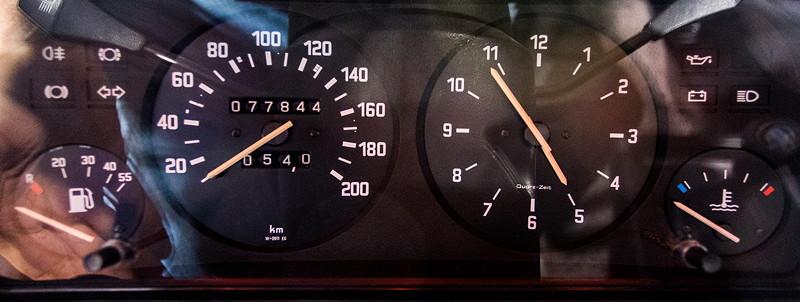 BMW 316, Tacho-Instrumente