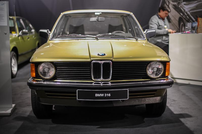 BMW 316 (E21) von Detlev Dorn, ausgestellt durch den BMW 3er Club E21/E30 auf der Techno Classica 2018.