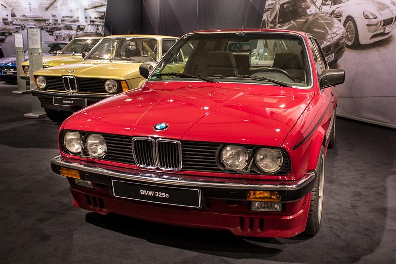 BMW 325e (E30), ehemaliger Neupreis: 29.850 DM