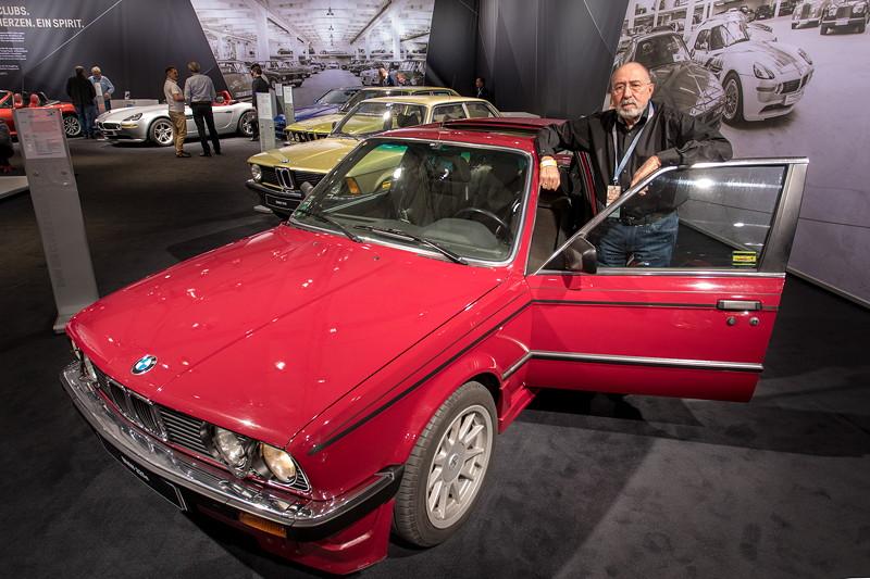 BMW 325e (E30) mit dem Ehemann der Besitzerin
