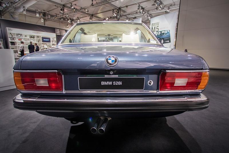 BMW 528i (E12), Heckansicht
