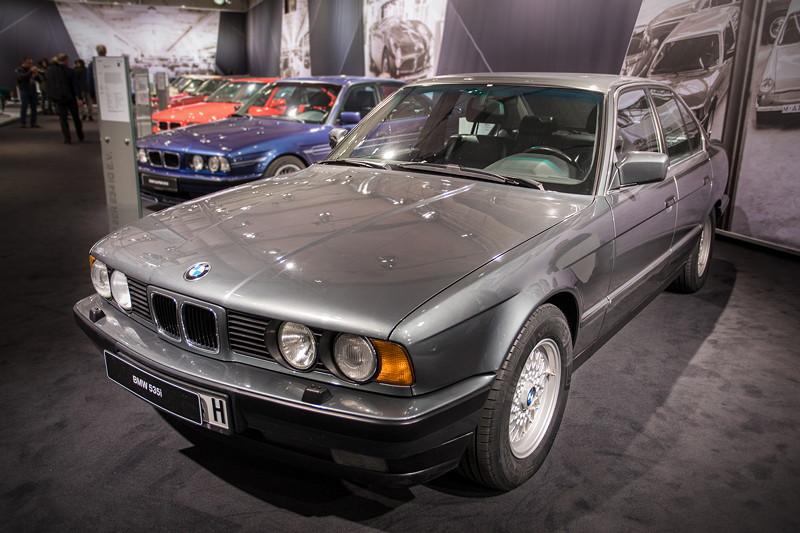 BMW 535i (E34), Baujahr: 1988, 96.311 produzierte Einheiten