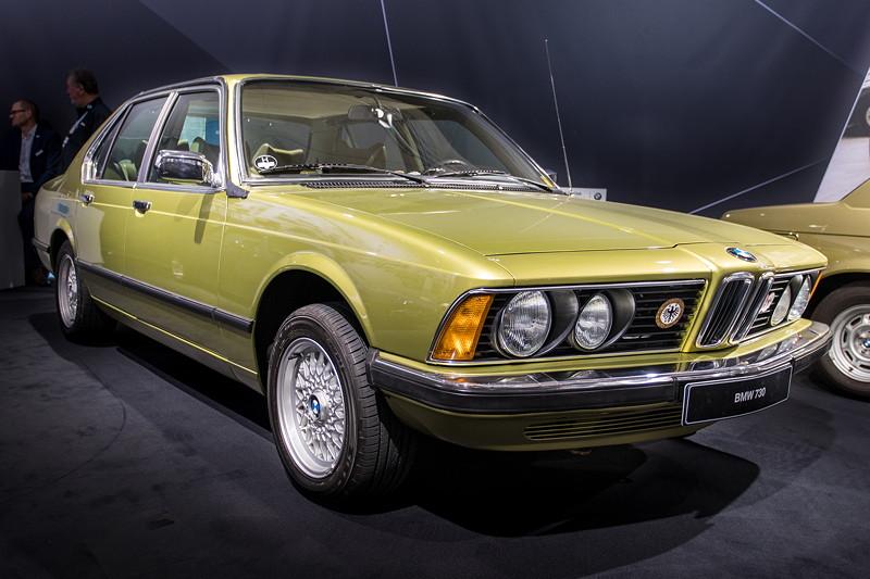 BMW 730 (E23), Baujahr: 1978, ehemaliger Neupreis: 33.500 DM