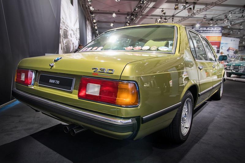 BMW 730 (E23), im Mai 1977 erstmals vorgestellt