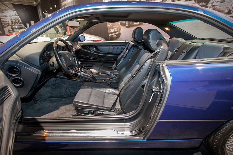 BMW 840Ci (E31), Blick in den Innenraum
