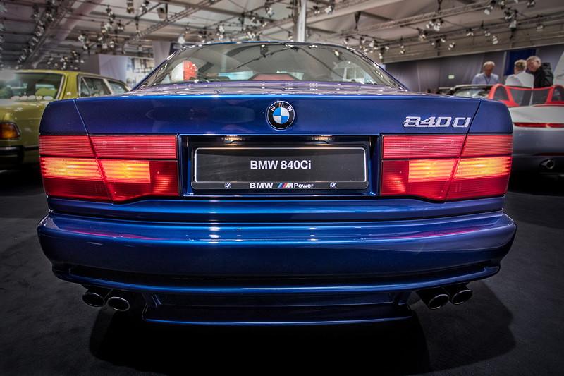 BMW 840Ci (E31), ehemaliger Neupreis: 136.000 Euro