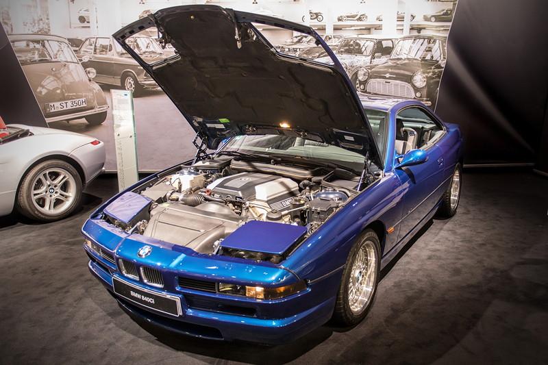 BMW 840Ci (E31), V8 -Motor, 4.398 ccm Hubraum
