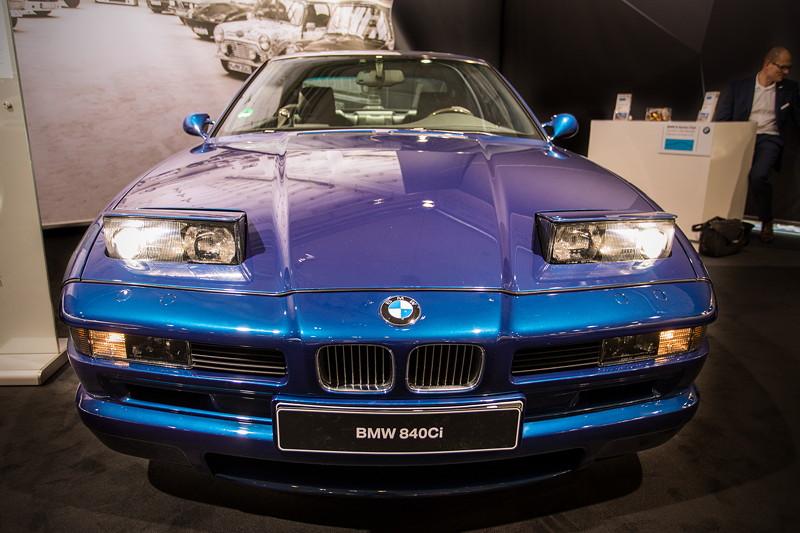 BMW 840Ci (E31) mit geöffneten Schlafaugen (Klappscheinwerfer)